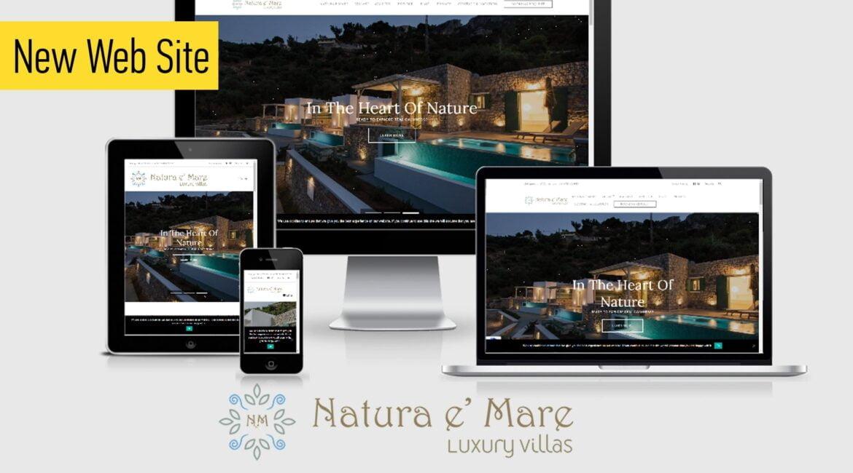 Γραφίστας ιστοσελίδων για σχεδιασμό και κατασκευή ιστοσελίδας luxury villas