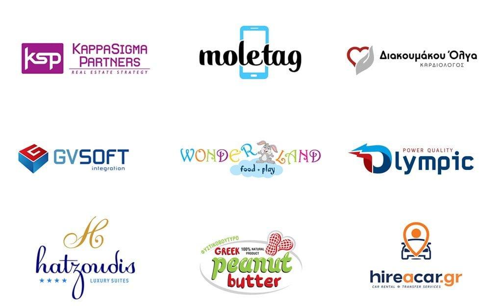 etoima logotyp vs epaggelmatika logotypa apo grafista smartgraphic