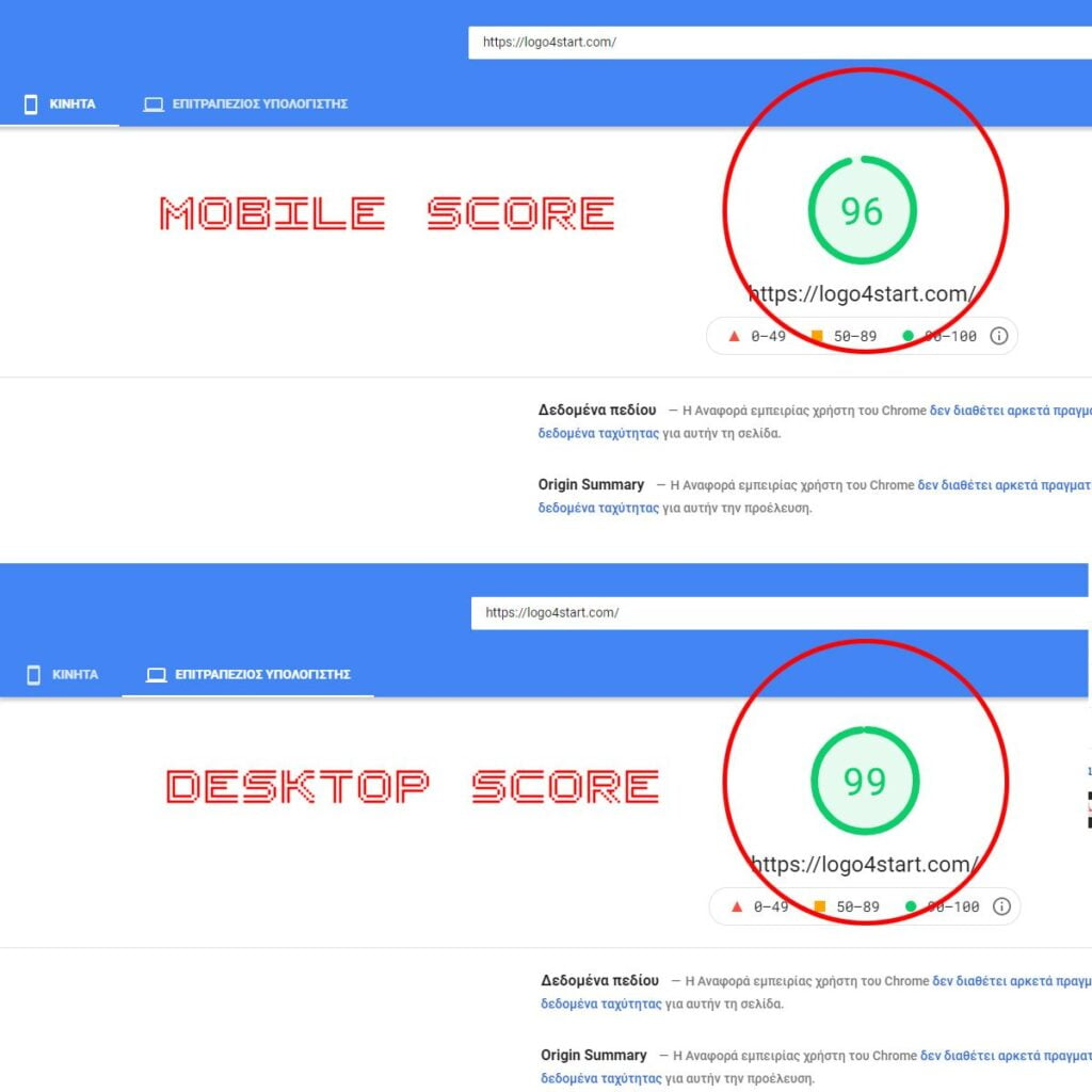 OPTIMIZED WEBSITE FOR GOOGLE WEB VITALS